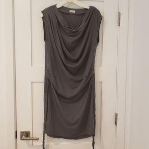 BRUNELLO CUCINELLI Silk and spandex dress